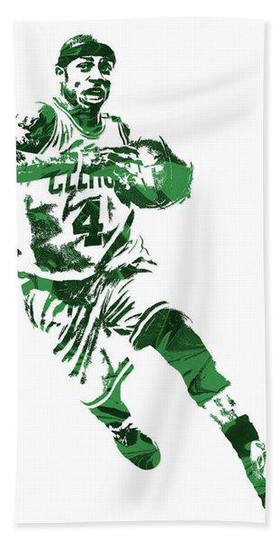 Isaiah Thomas Boston Celtics Pixel Art 5 Hand Towel