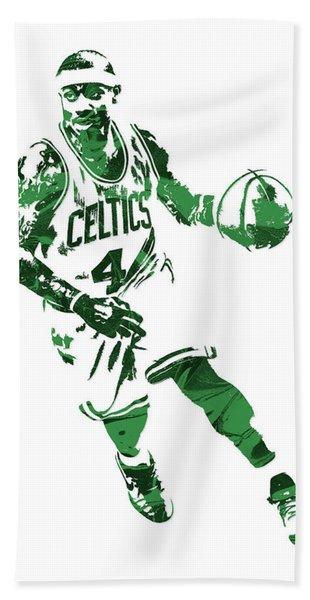 Isaiah Thomas Boston Celtics Pixel Art 6 Hand Towel