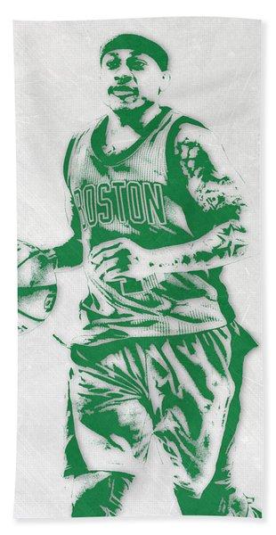 Isaiah Thomas Boston Celtics Pixel Art Hand Towel