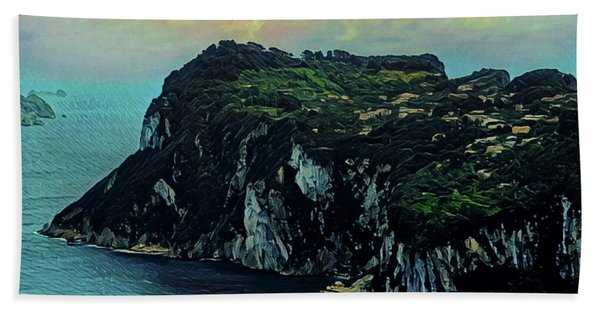 Isle Of Capri Italy Hand Towel