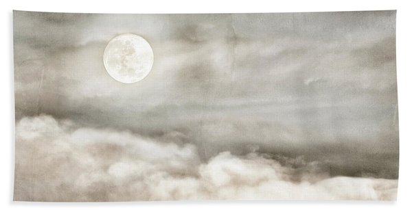 Ivory Moon Bath Towel