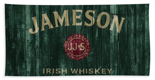Jameson Irish Whiskey Barn Door Hand Towel