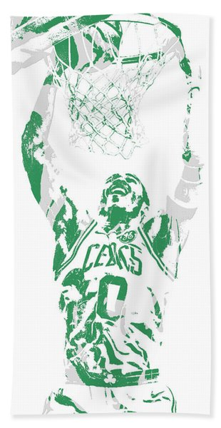 Jayson Tatum Boston Celtics Pixel Art 10 Hand Towel