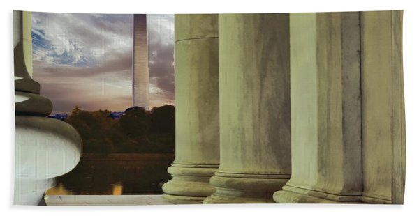 Jefferson Washington Hand Towel