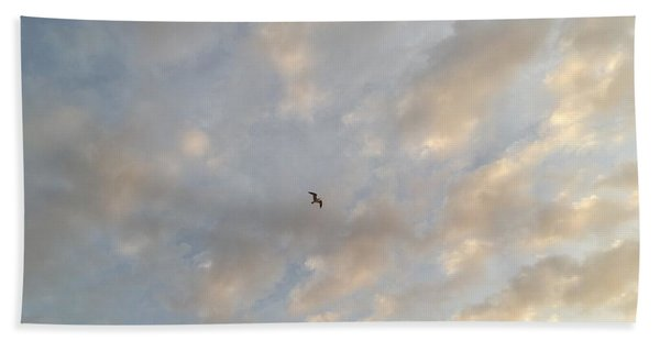 Jonathan Livingston Seagull Bath Towel
