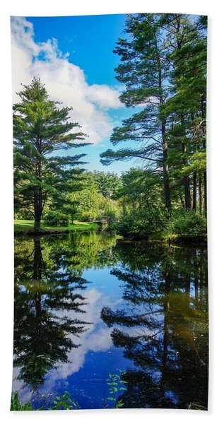 June Day At The Park Hand Towel