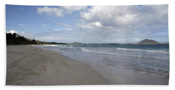 Kailua Beach, Oahu Bath Towel
