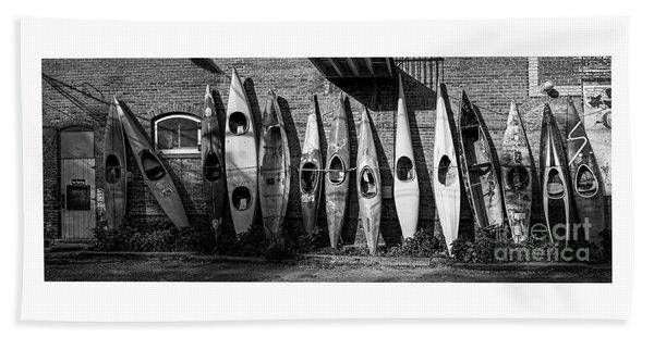Kayaks And Canoes Hand Towel