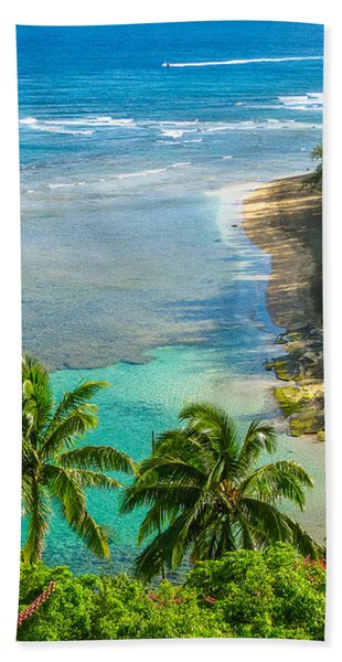 Kee Beach Kauai Bath Towel