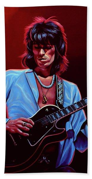 Keith Richards The Riffmaster Hand Towel