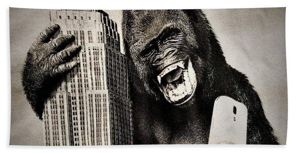 King Kong Selfie Bath Towel