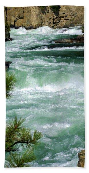 Kootenai River Bath Towel