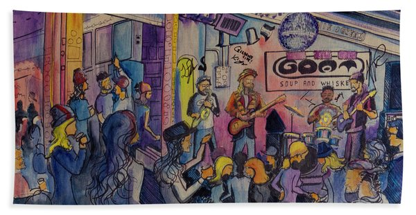 Kris Lager Band At The Goat Bath Towel