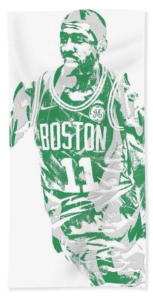 Kyrie Irving Boston Celtics Pixel Art 6 Hand Towel