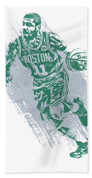 Kyrie Irving Boston Celtics Water Color Art 2 Hand Towel