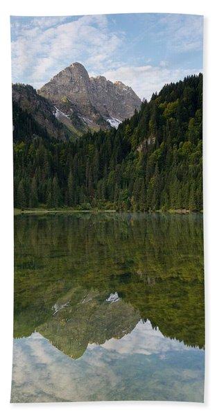 Lac Des Plagnes Hand Towel
