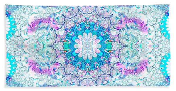 Lacy Mandala Hand Towel