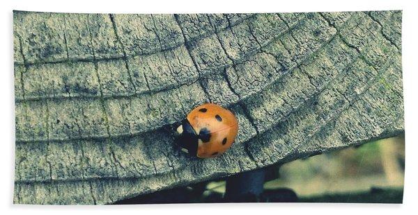 Ladybird Hand Towel
