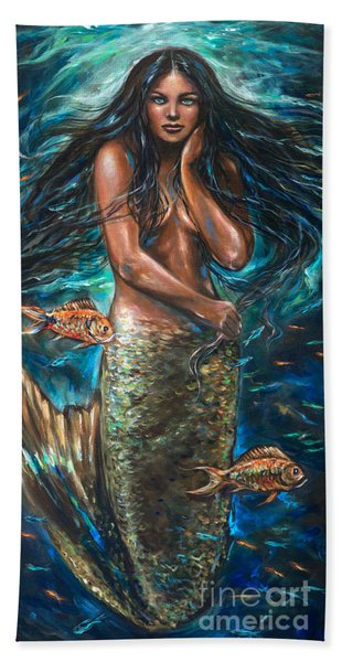 Lailani Mermaid Hand Towel