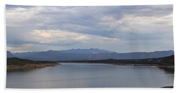 Lake Roosevelt 2 Hand Towel