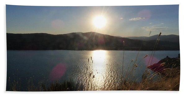 Lake Roosevelt Sun Bath Towel