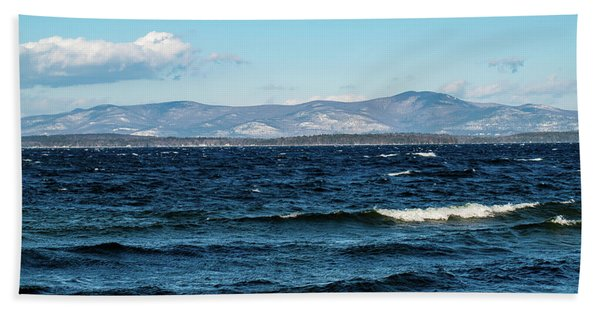 Lake Winnipesaukee Hand Towel
