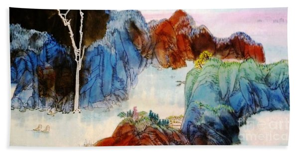 Landscape #2 Hand Towel