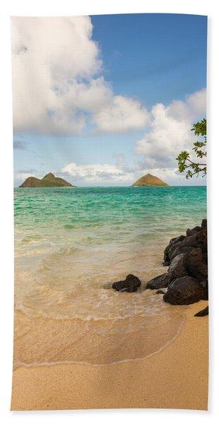 Lanikai Beach 1 - Oahu Hawaii Hand Towel