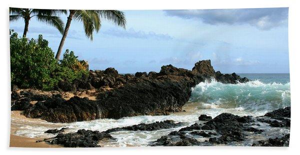 Lapiz Lazuli Stone Aloha Paako Aviaka Bath Towel