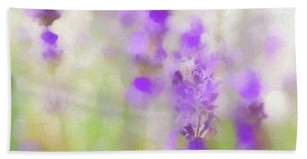 Lavender Fields Forever Bath Towel