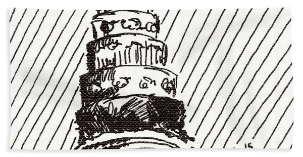 Layer Cake 1 2015 - Aceo Hand Towel