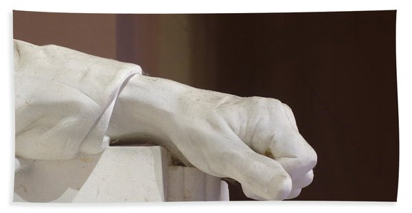 Left Hand Of Lincoln Hand Towel