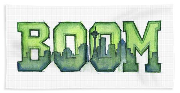 Legion Of Boom Bath Towel