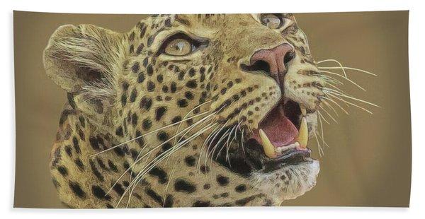 Leopard Tee Hand Towel