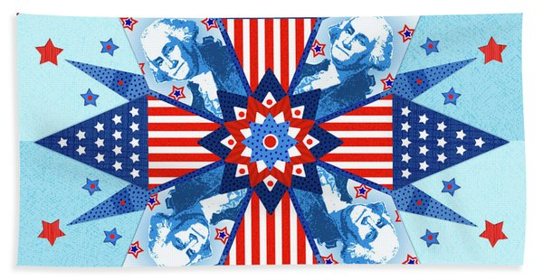 Liberty Quilt Hand Towel