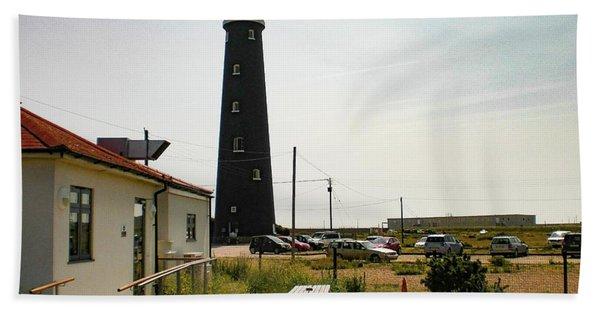 Lighthouse, Dungeness, Kent Bath Towel
