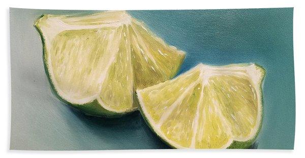 Limes Hand Towel