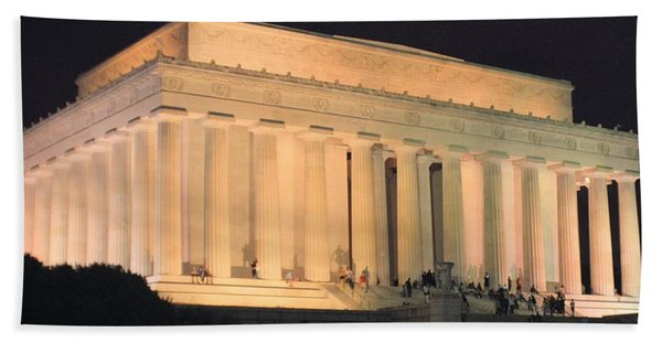 Lincoln Memorial Bath Towel
