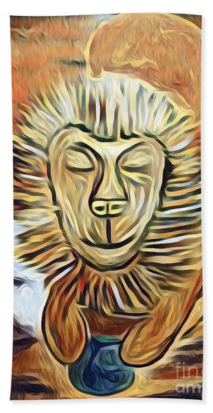 Lion Of Judah II Hand Towel