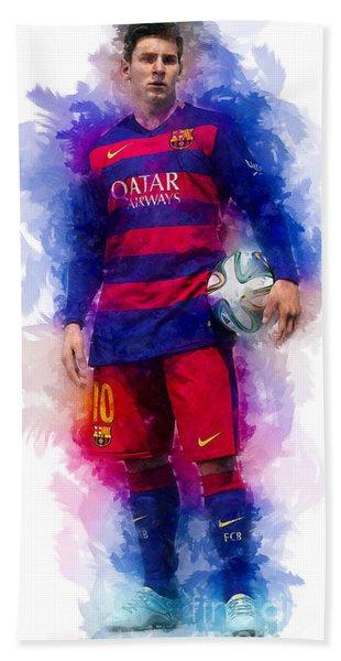 Lionel Messi Hand Towel