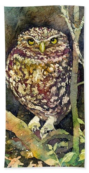 Little Owl Hand Towel