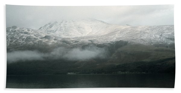 Loch Lomond, Winter Bath Towel