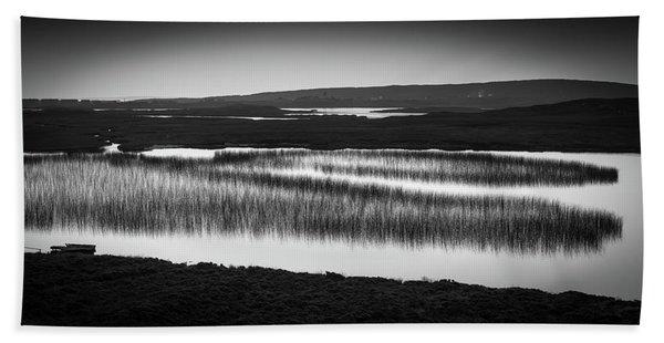 Loch Na Maracha, Isle Of Harris Hand Towel