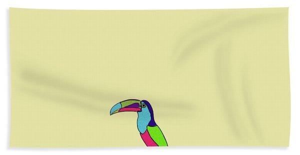 Lolipop Bird Hand Towel