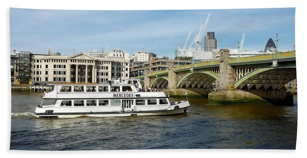 London River View Hand Towel