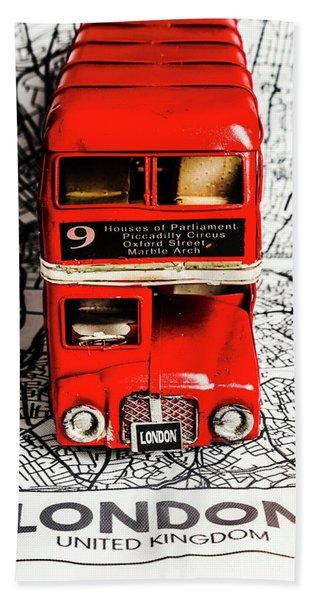 London Tours Hand Towel