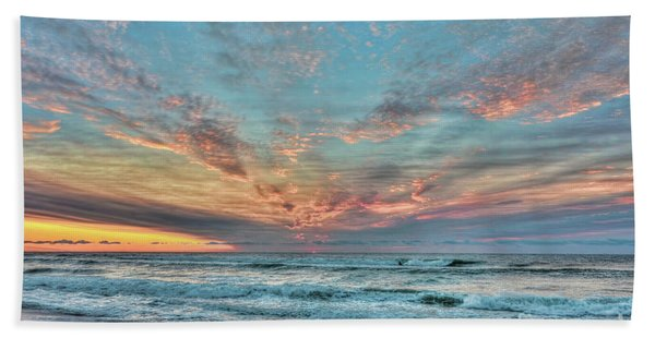 Long Beach Island Sunrise Bath Towel