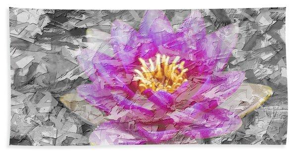 Lotus Flower Bath Towel