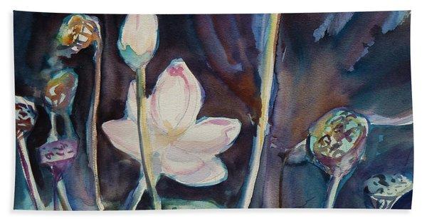 Lotus Study II Hand Towel