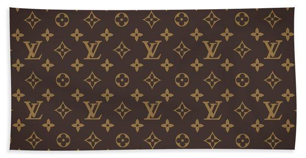 Louis Vuitton Texture Bath Towel